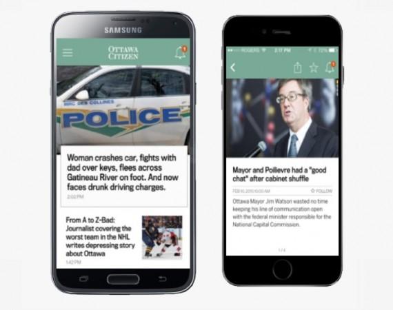 Ottawa Citizen Mobile App